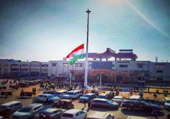 राजधानी में लहराया गया 100 फीट ऊंचा झंडा, जानिए क्या है विशेषता?