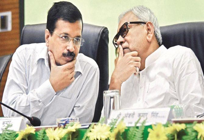 संकट की घड़ी में बिहार सरकार की मदद के लिए आगे आई केजरीवाल की 'AAP'