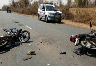 बेगूसराय में अज्ञात वाहन के चपेट में आने से पति की मौत, पत्नी घायल