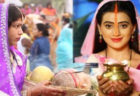 अक्षरा सिंह का इस साल का पहला छठ गीत हुआ लॉन्च, छठी मईया की भक्ति में डूबीं आईं नजर