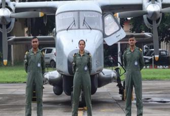 बिहार की लेफ्टिनेंट शिवांगी ने रचा इतिहास, बनेंगी नौसेना की पहली महिला पायलट