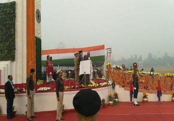 71वें गणतंत्र दिवस के अवसर पर गांधी मैदान में राज्यपाल फागू चौहान ने किया झंडोत्तोलन