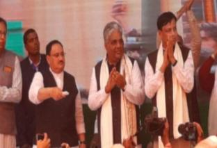 जदयू से गठबंधन को लेकर पटना में बीजेपी के राष्ट्रीय अध्यक्ष ने किया बड़ा ऐलान