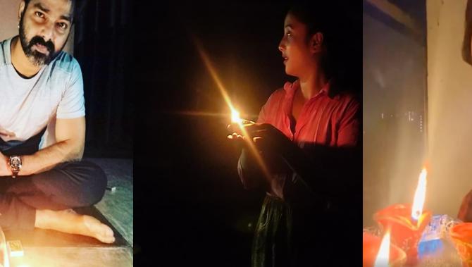 कोरोना के खिलाफ लड़ाई में आगे आए भोजपुरी स्टार,  '9 बजे, 9 मिनट' को बनाया सफल